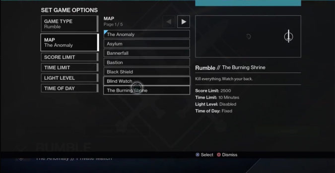 Destiny Rise of Iron add Private Matches