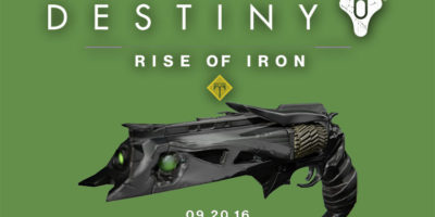 Destiny Rise of Iron Year 3 Thorn