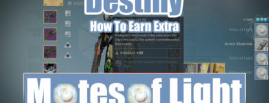 Destiny Earn Extra Motes of Light