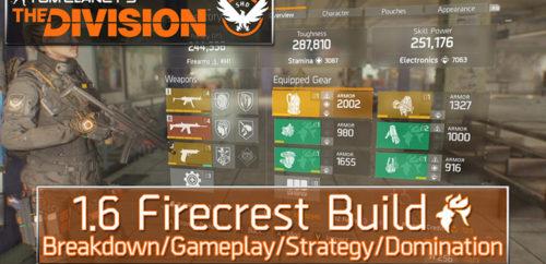 Division 1.6 Firecrest Build