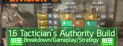 Division 1.6 Tactician's Authority Build
