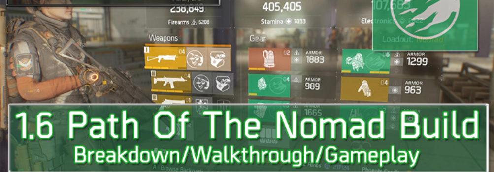 Division 1.6 Nomad Build