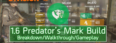 division 1.6 predator's mark build