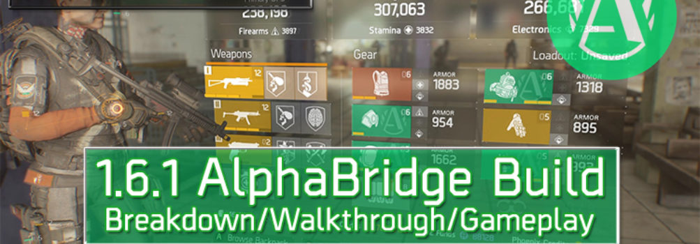 Division 1.6.1 AlphaBridge Build