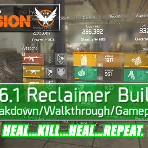 Division 1.6.1 Reclaimer Build