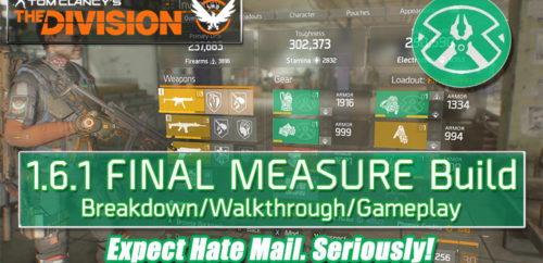 Division 1.6.1 Final Measure Build
