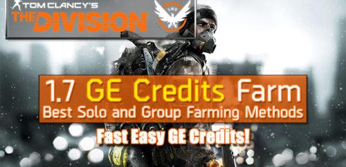 Division 1.7 Fast GE Credits Farming