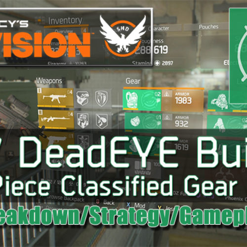 The Division 1.7 DeadEYE Build