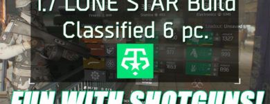 Division 1.7 Classified 6 piece Lone Star Build