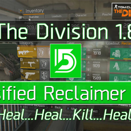Division 1.8 Classified 6 Piece Reclaimer Build