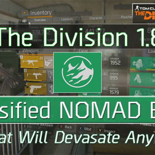 Division 1.8 Classified 6 Piece Nomad Build