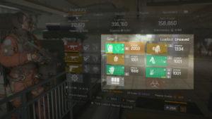 The Division 1.8 Max Armor Breakdown Open World