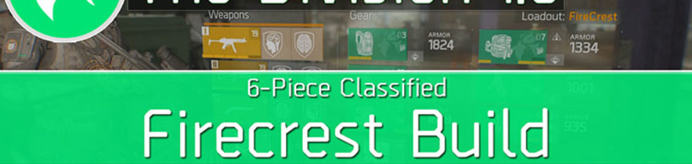 Division 1.8 Classified Firecrest Build