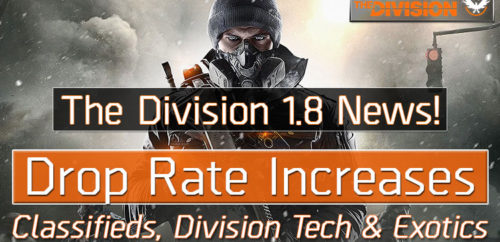 Division 1.8 New Drop Rate Increases
